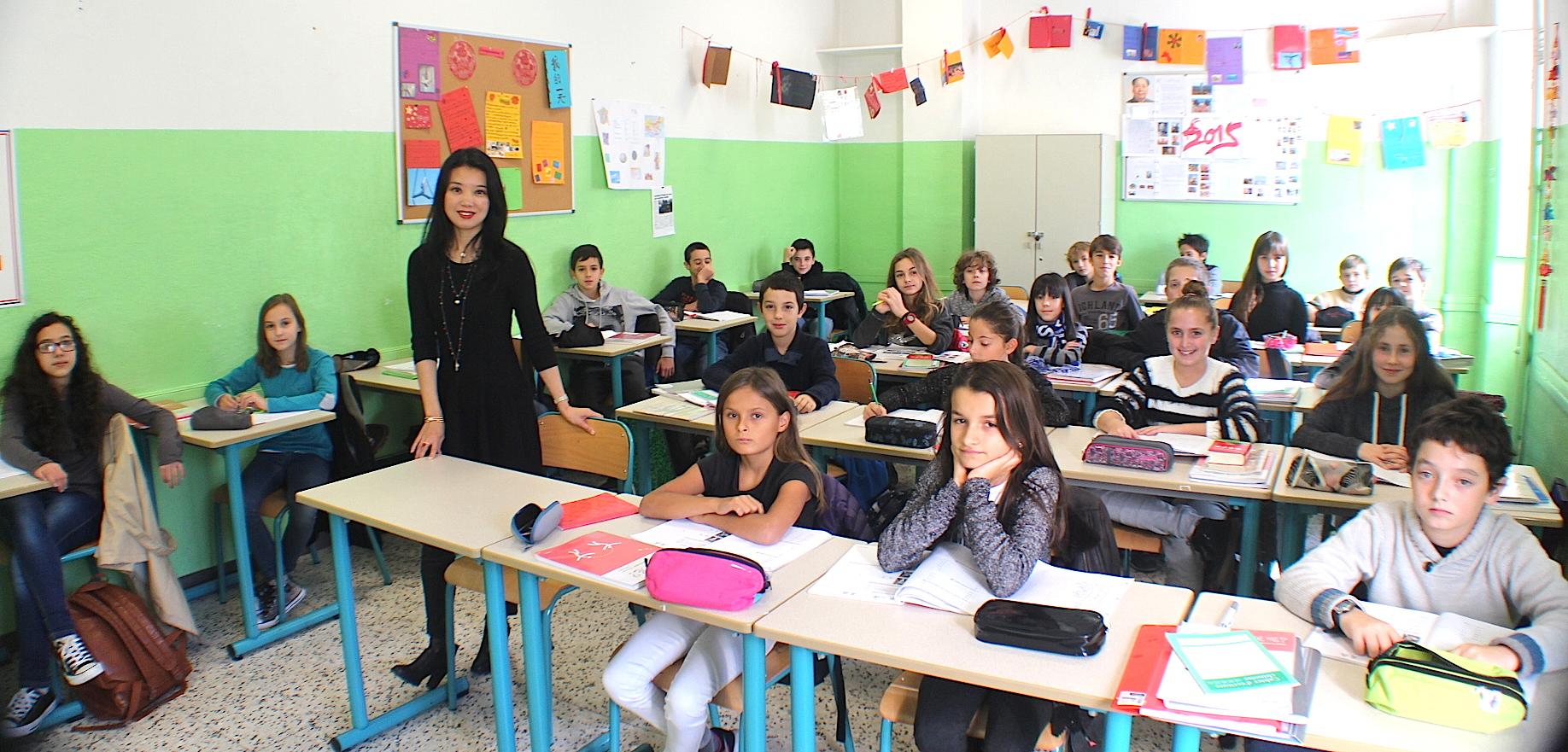 Xin Guo-Devichi, seule enseignante de la langue chinoise en Corse