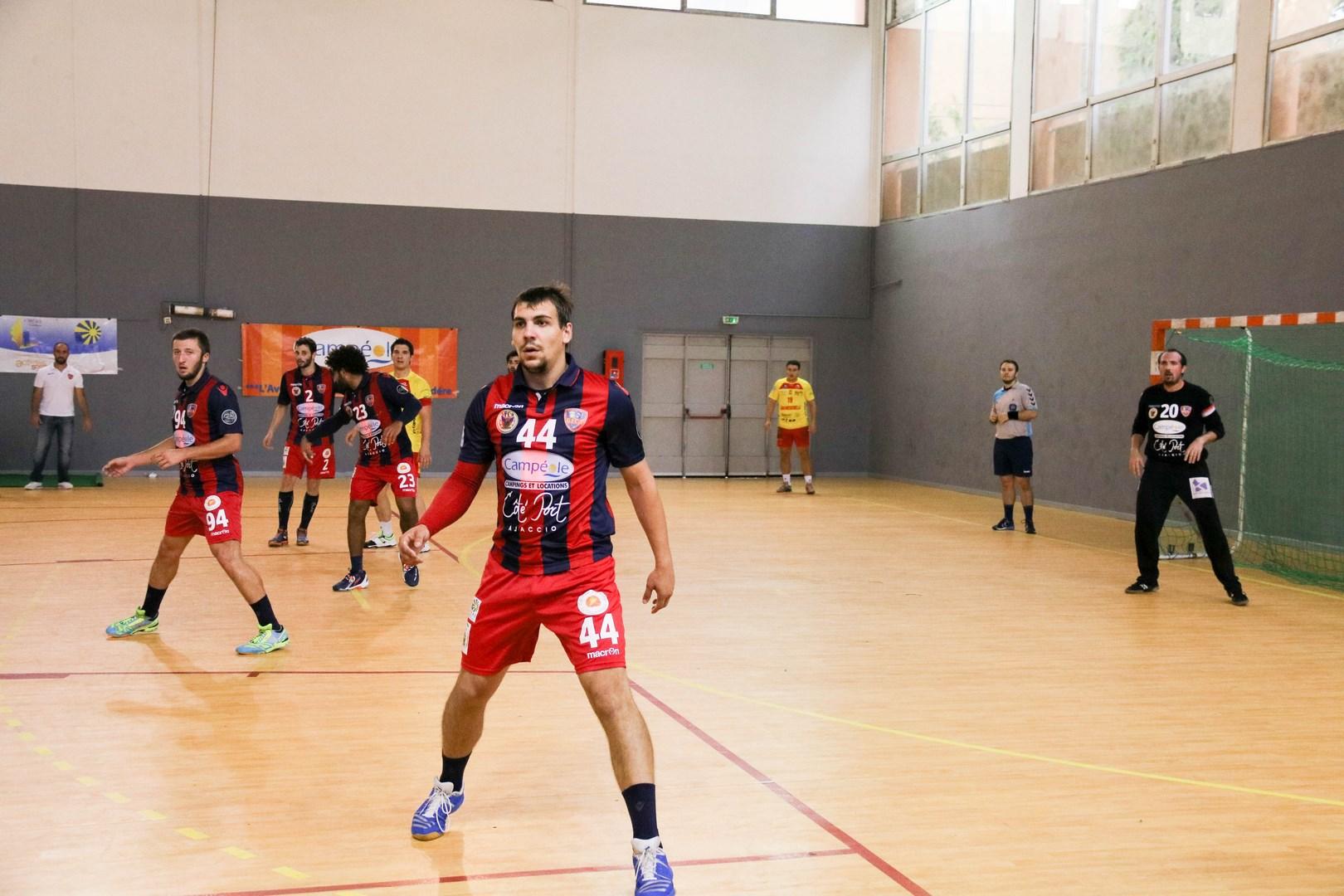 Handball : Le GFC Ajaccio s'incline à Montpellier