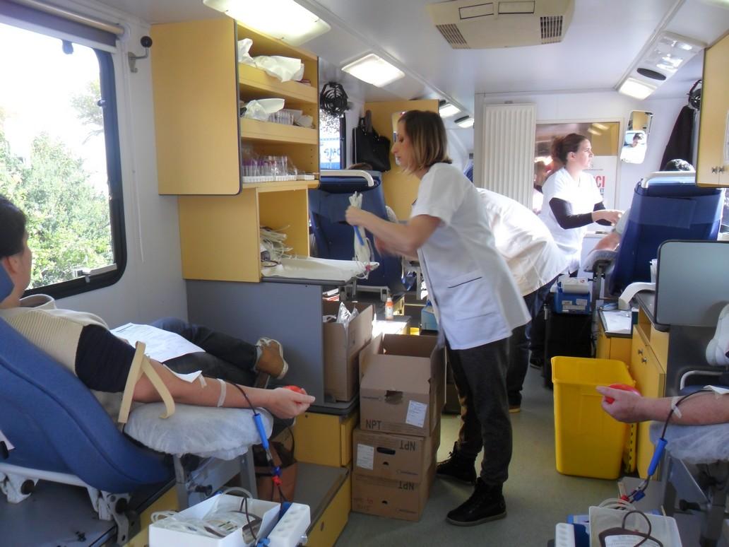Bastia : Les donneurs de sang viennent en masse à la collecte de l'EFS