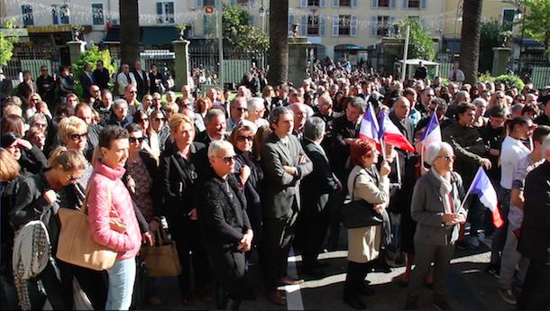 Hommage aux victimes des attentats de Paris : La Corse au rendez-vous du silence de midi