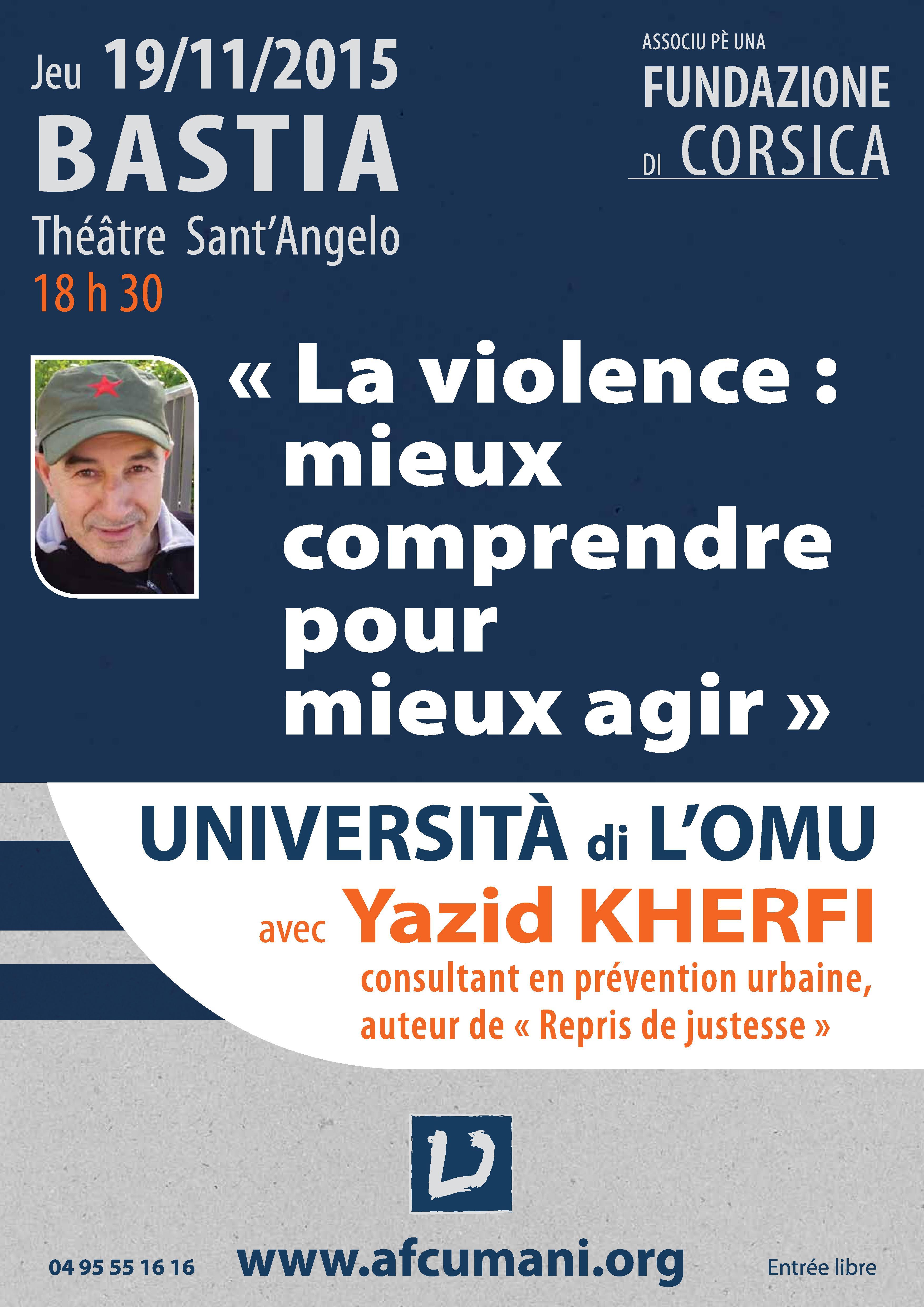 L'ancien braqueur Yazid Kherfi invité par l'Afc-Umani : « La parole est plus forte que la violence »