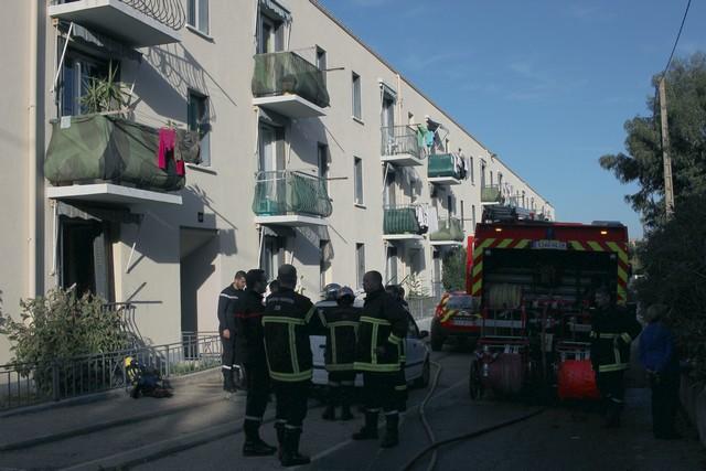 Incendie dans un appartement à Calvi : Une personne incommodée