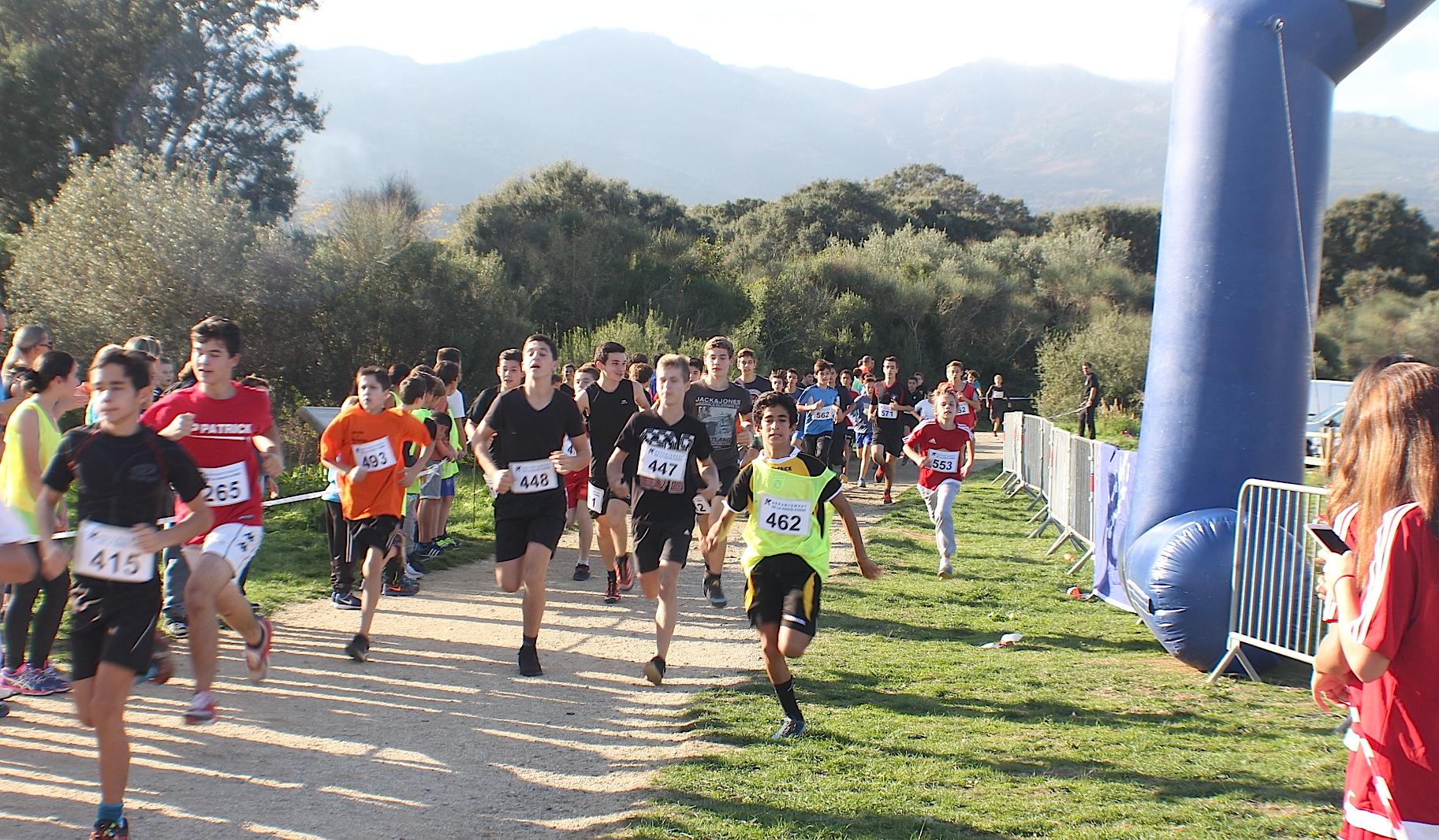 UNSS  : 600 élèves sur le parcours de Fornacina