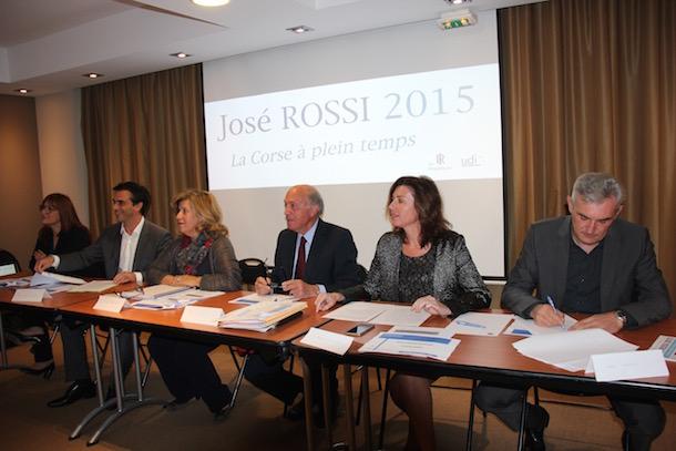 José Rossi 2015 : Orientations de campagne et bilan de la mandature sortante