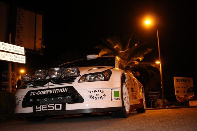 Rallye de Balagne 2015 :Trojani à sa main dans le prologue de nuit entre Montemaggiore et Zilia