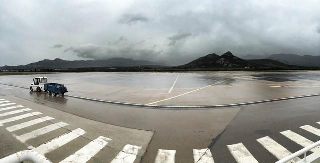 Trafic aérien fortement perturbé et 1 500 foyers privés d'électricité en Balagne