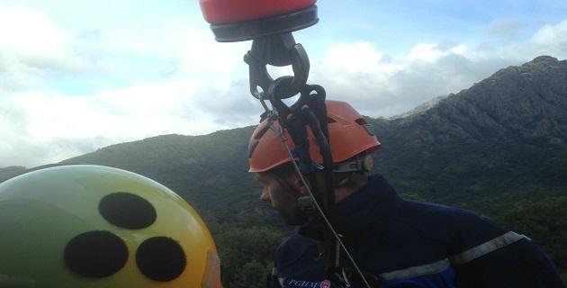 Double intervention du PGHM de Corse à Afa et Cauro