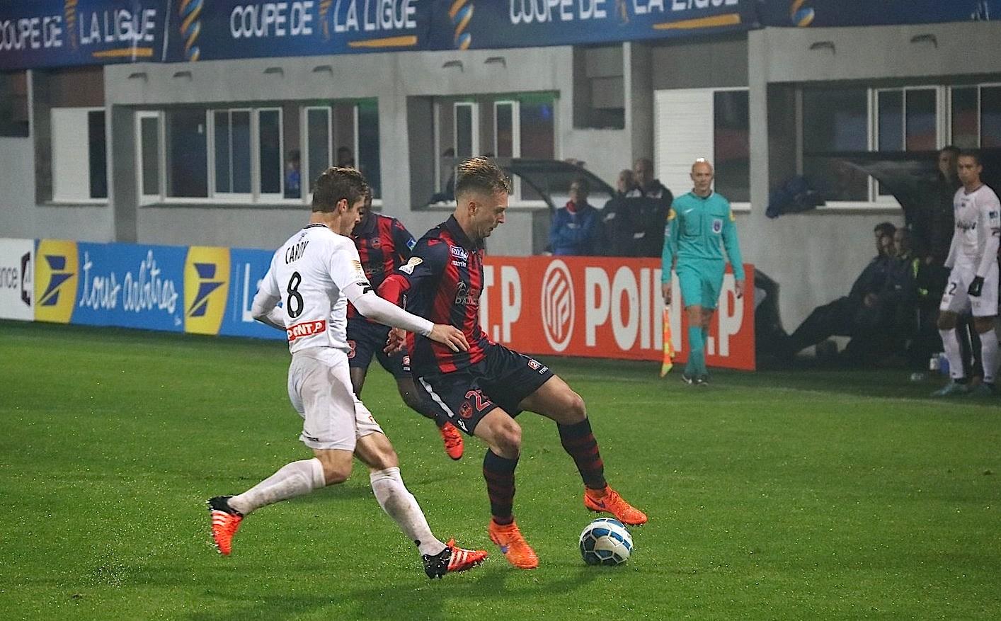 GFCA-Guingamp (0-1) : Un but c'est tout !