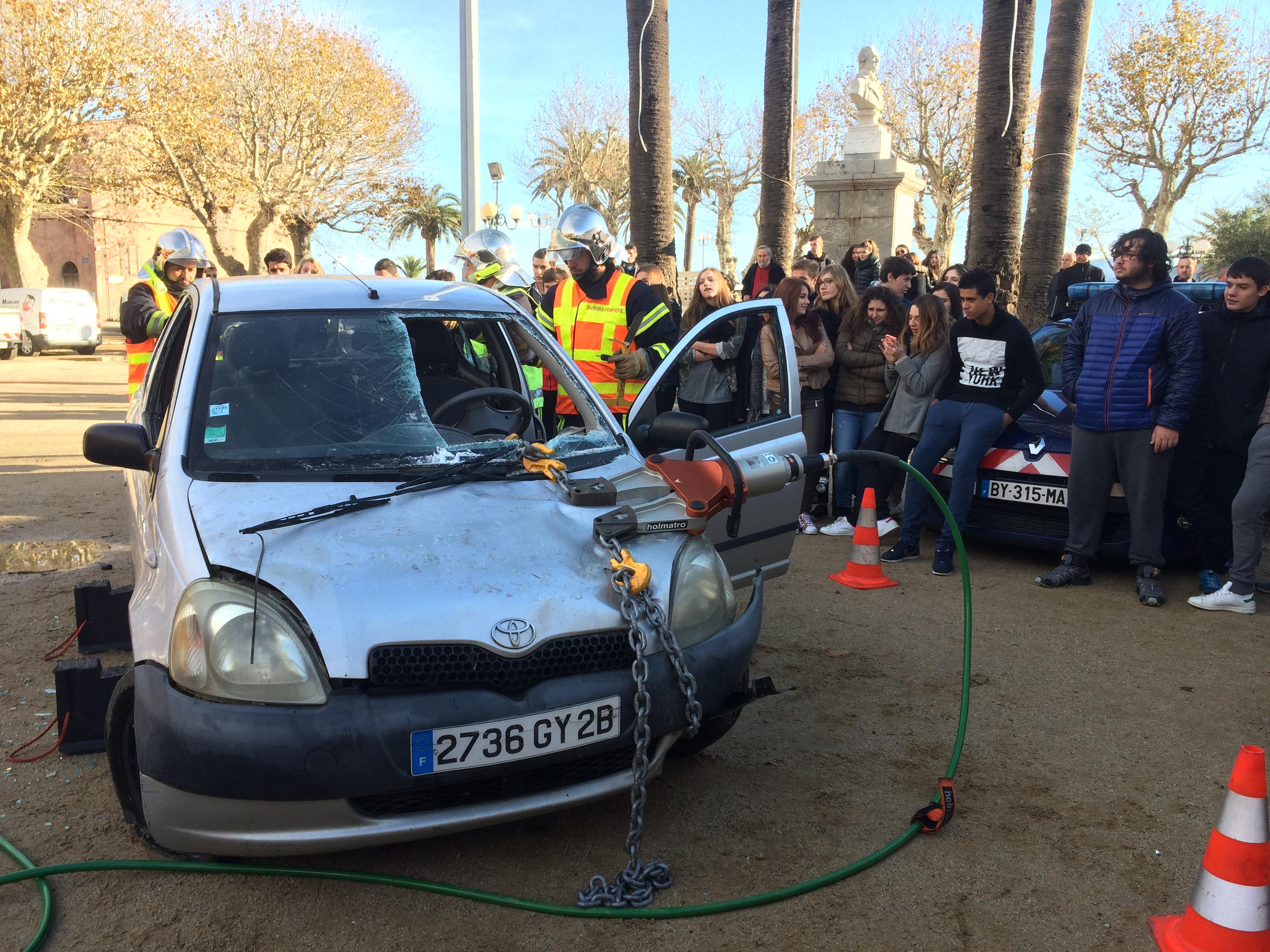 Journée de la prévention routière à l'Ile-Rousse