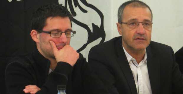 Petr'Anto Tomasi et Jean-Guy Talamoni.