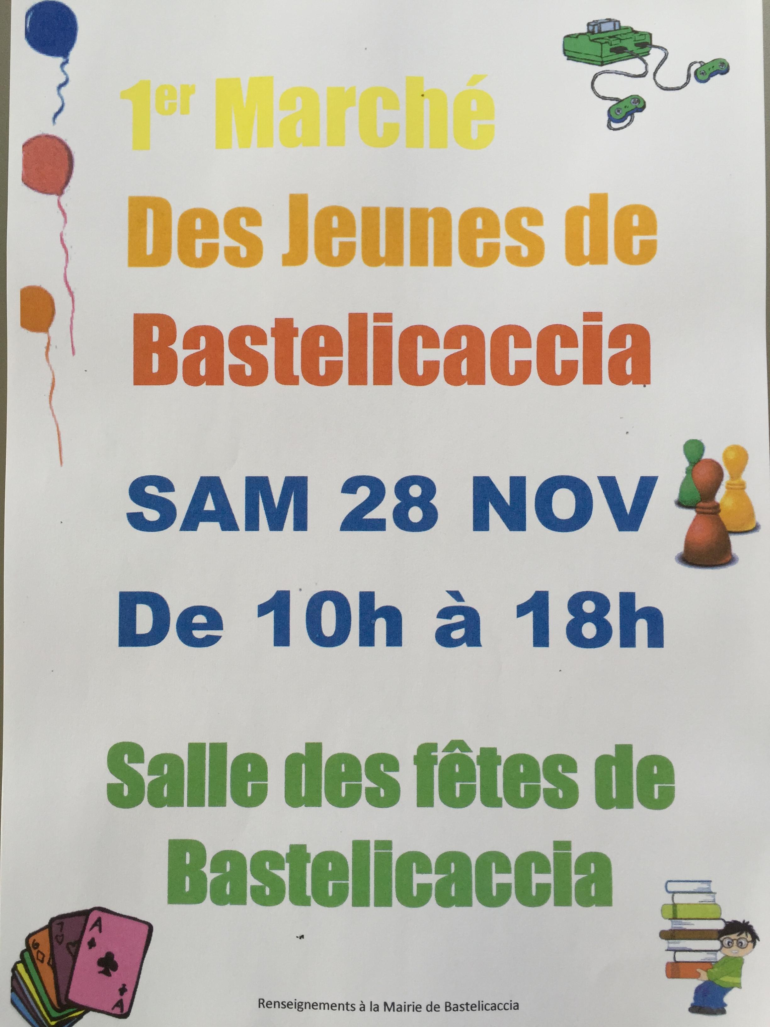 Bastelicaccia lance son premier marché des jeunes