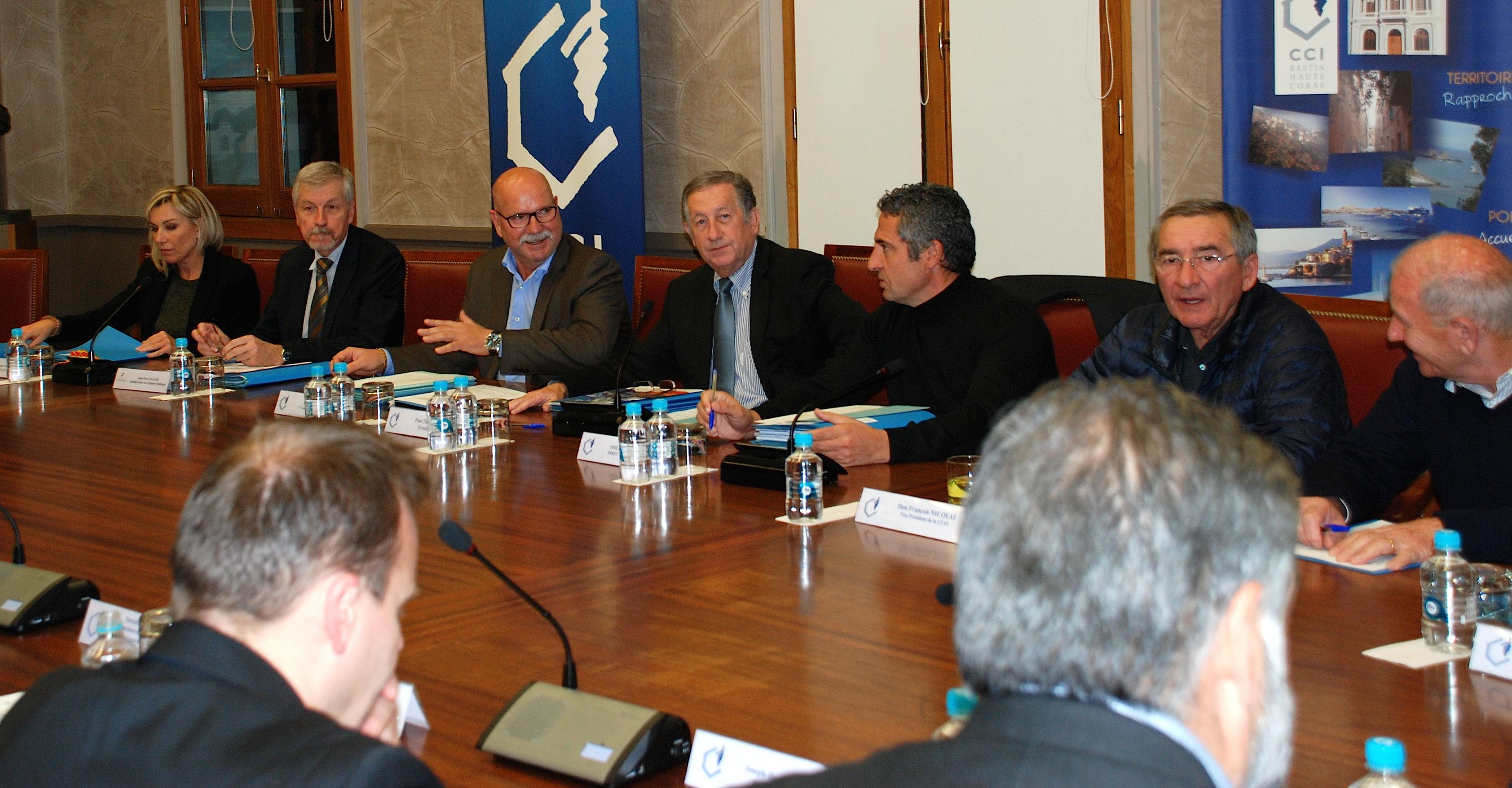 Concessions portuaires et aéroportuaires : 10 M€ inscrits au projet de budget de la CCI 2B