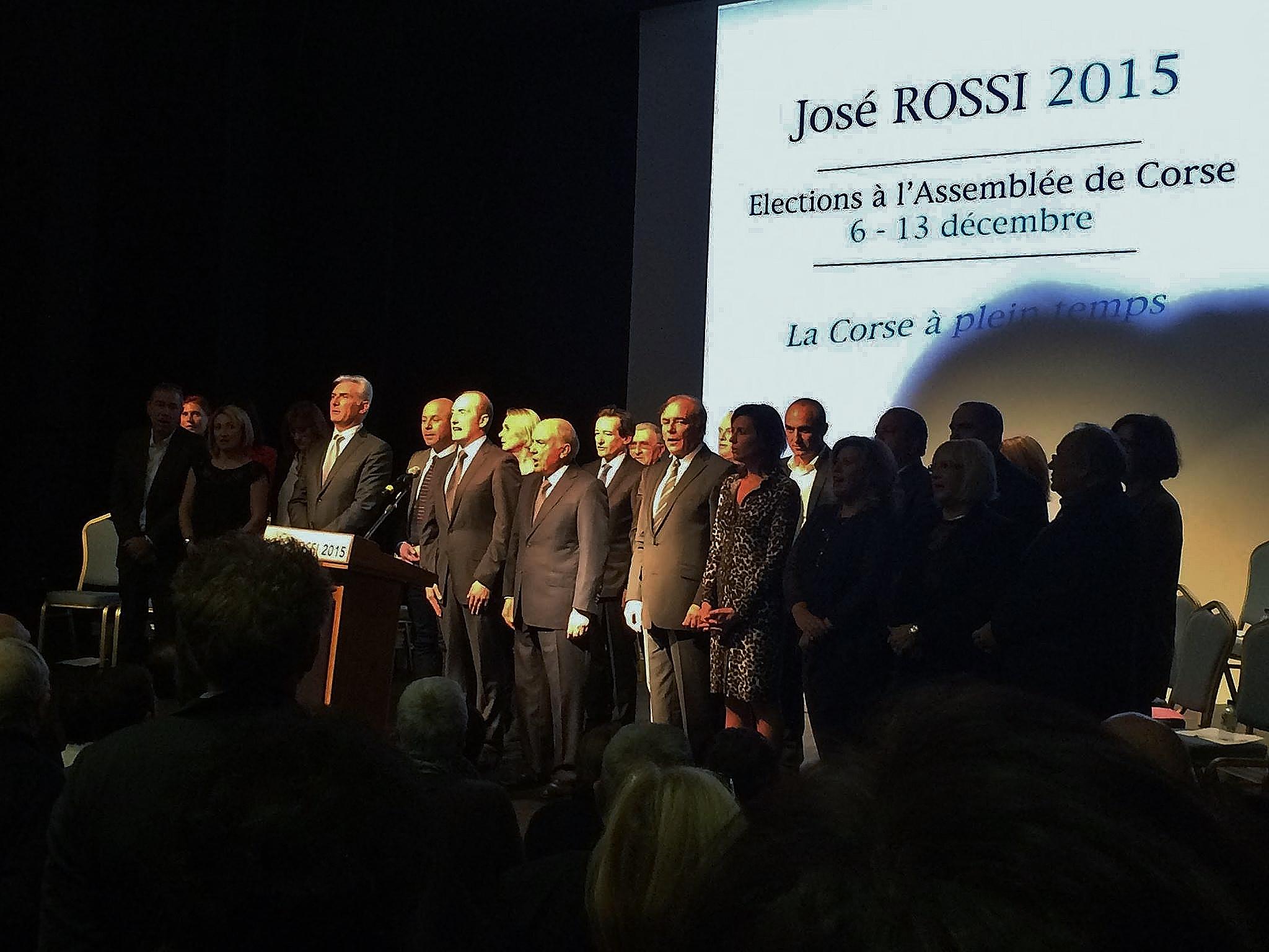 """Meeting de José Rossi au palais des congrès :  """"Notre île a perdu le chemin de la croissance…"""""""