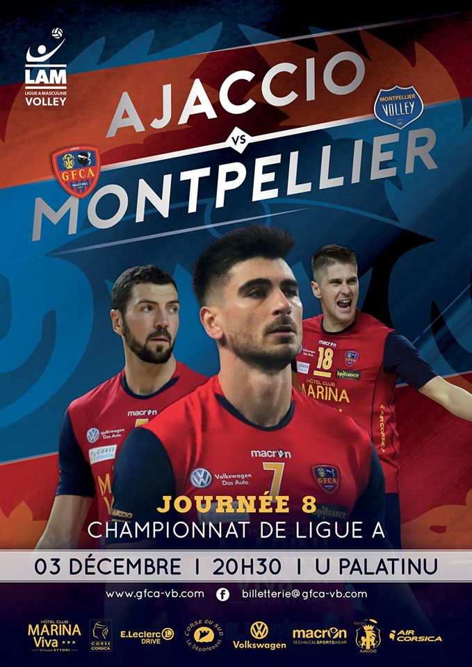 Volley-Ball : Le GFCA rencontre Montpellier ce jeudi