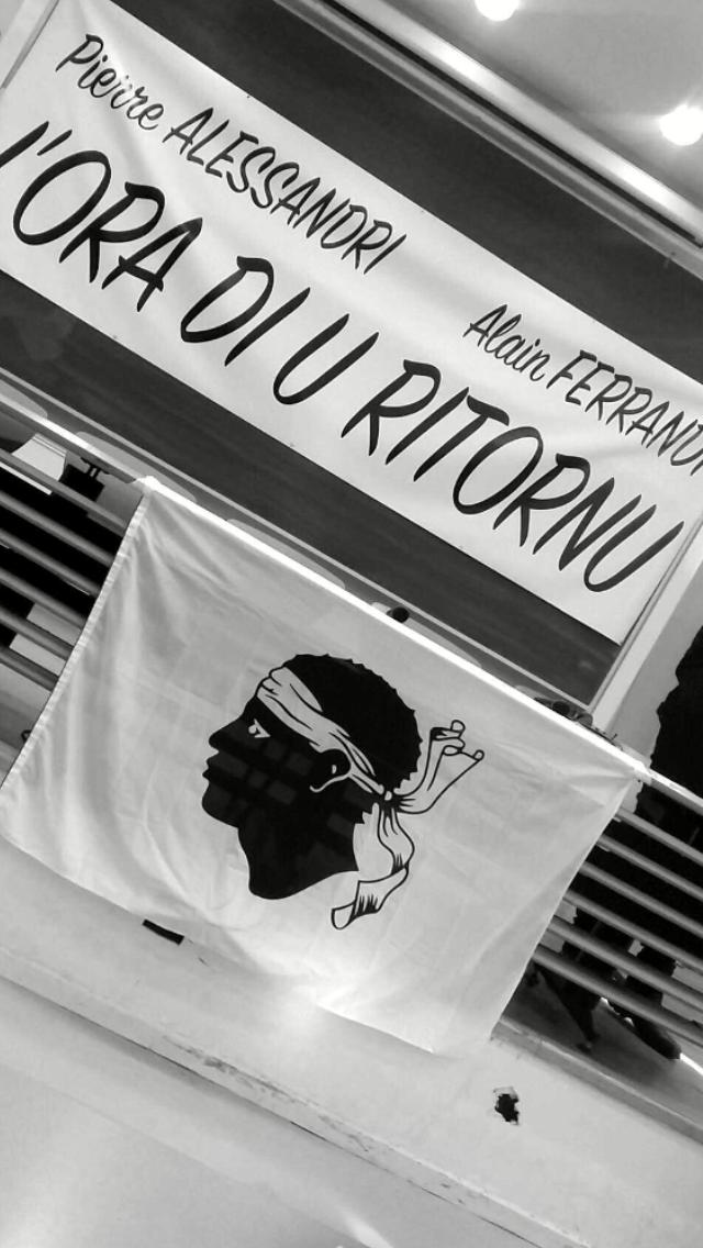 """Corte : """"L'ora di u ritornu""""  pour Pierre Alessandri et Alain Ferrandi"""