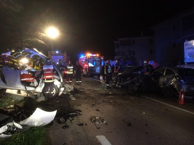 Carambolage à Algajola : 3 blessés