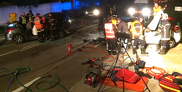 Collision frontale à Algajola : Deux blessés graves, un blessé léger