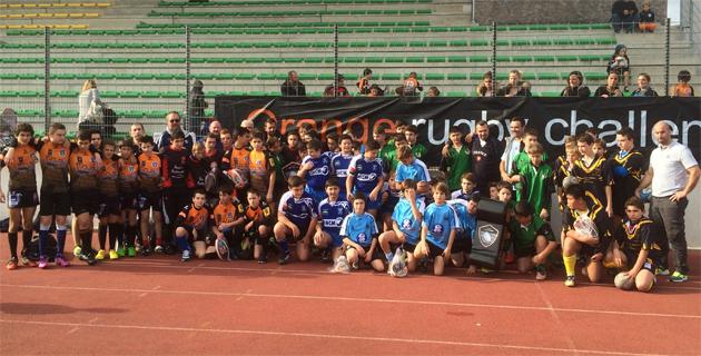 Le RC Lucciana remporte la finale régionale de l'Orange rugby challenge