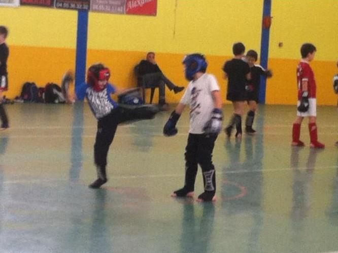 Lucciana : Une cinquantaine de jeunes au parcours de la Ligue Corse de Kick Boxing,