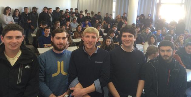 Corte : La jeunesse nationaliste s'engage aussi dans l'union