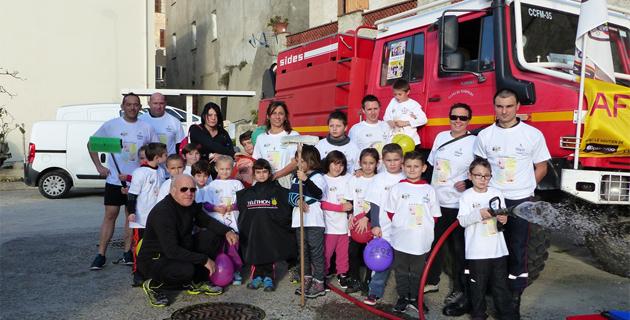 Les Sapeurs-Pompiers de Cervioni ont dressé leur bilan du Téléthon 2015