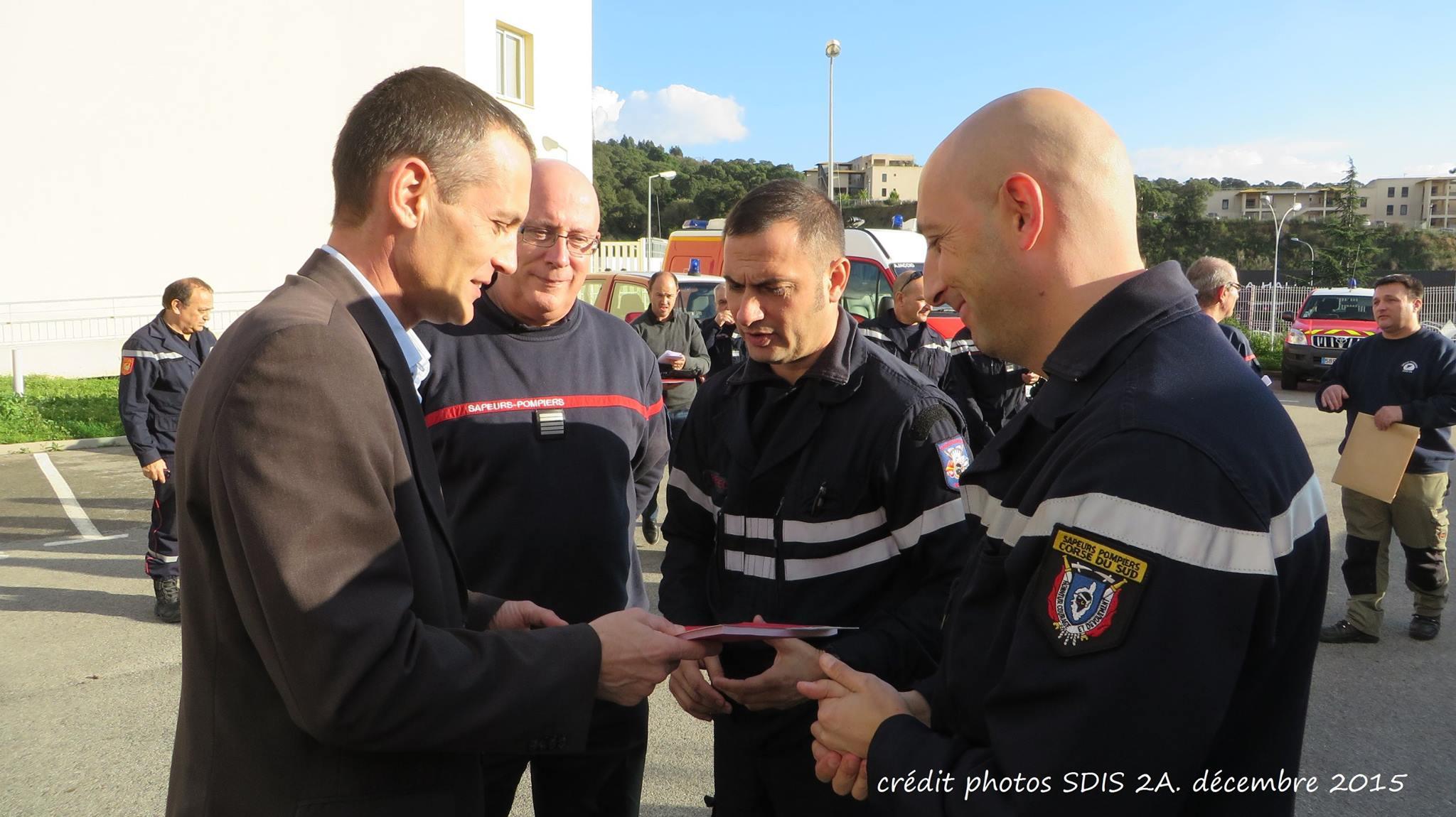 Corse-du-Sud : Présentation des nouveaux véhicules opérationnels