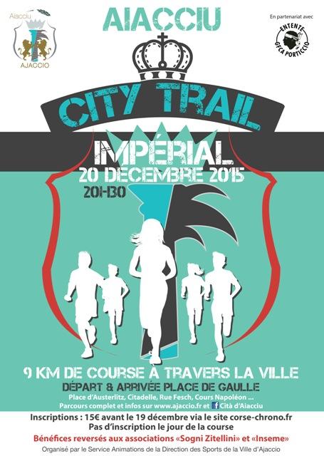 Ajaccio : Le premier City Trail Impérial aura lieu ce dimanche