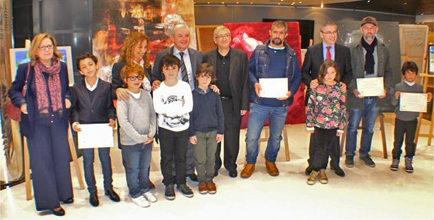 Bastia : Les lauréats du prix artistique Jean-Leccia récompensés au Conseil départemental
