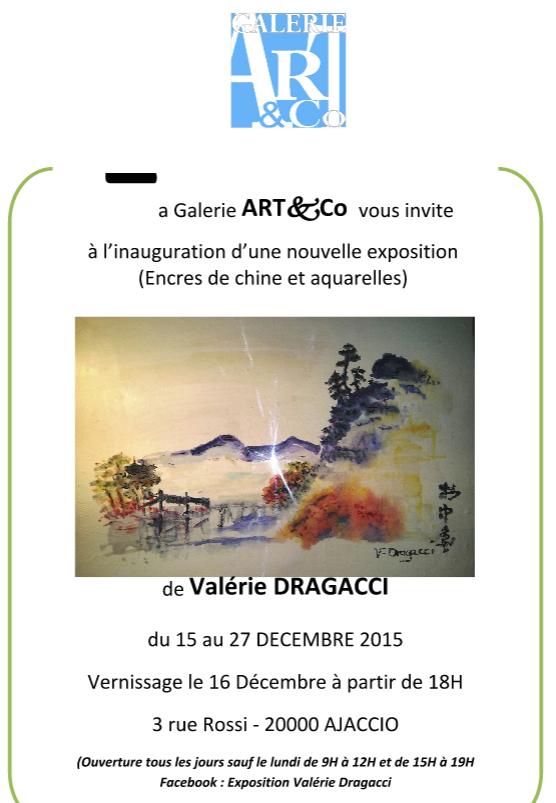 Lavis, encres de Chine et aquarelles sur papier de riz : Valérie Dragacci expose à Art&Co
