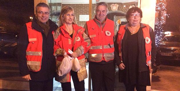 Bastia : Le préfet de Haute-Corse en maraude avec la Croix Rouge