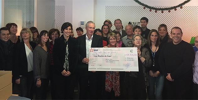 EDF Corse : 4 000 ampoules LED vendues et 11 976 € pour réchauffer les Restos du Cœur