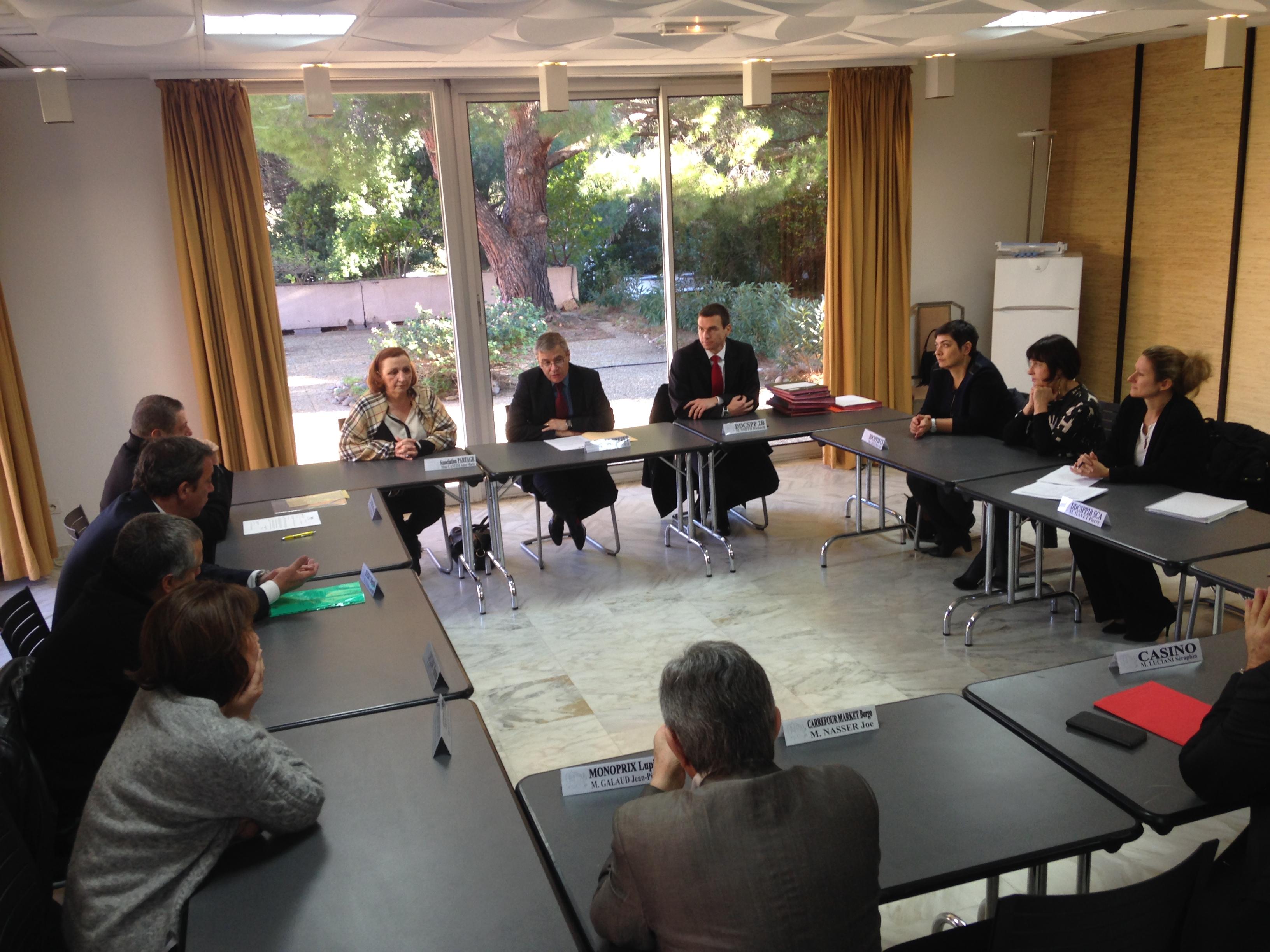 Bastia : Quand les grandes surfaces partagent