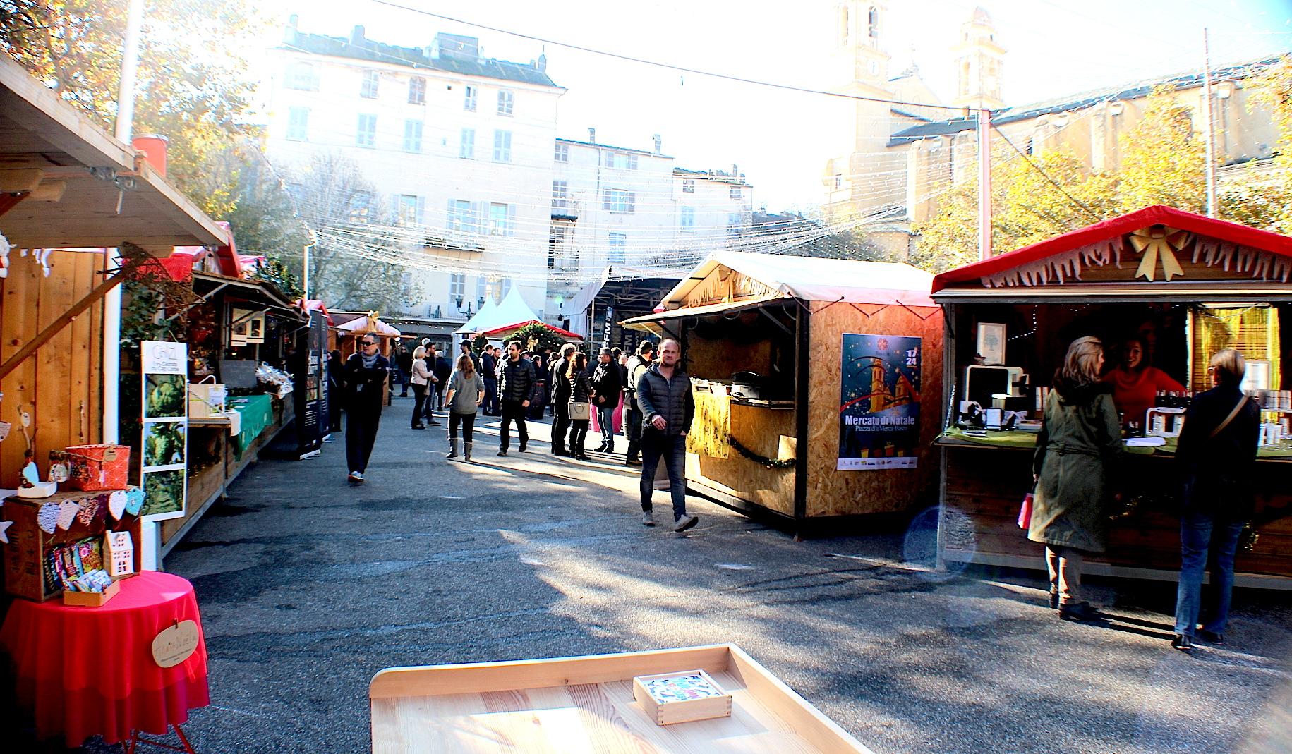 U Mercatu di Natale di Bastia : C'est parti jusqu'au 24 Décembre