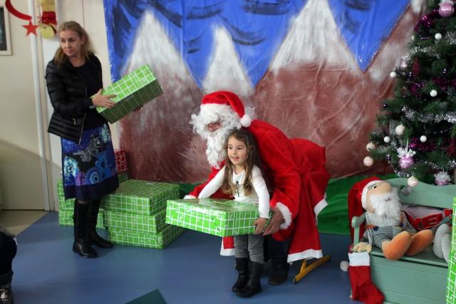 Le père Noël est passé à la maternelle Cardellu de Calvi