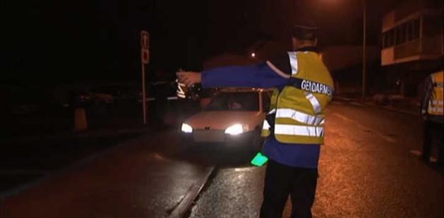 Contrôles routiers la nuit de la Saint-Sylvestre à Calvi et L'Ile-Rousse