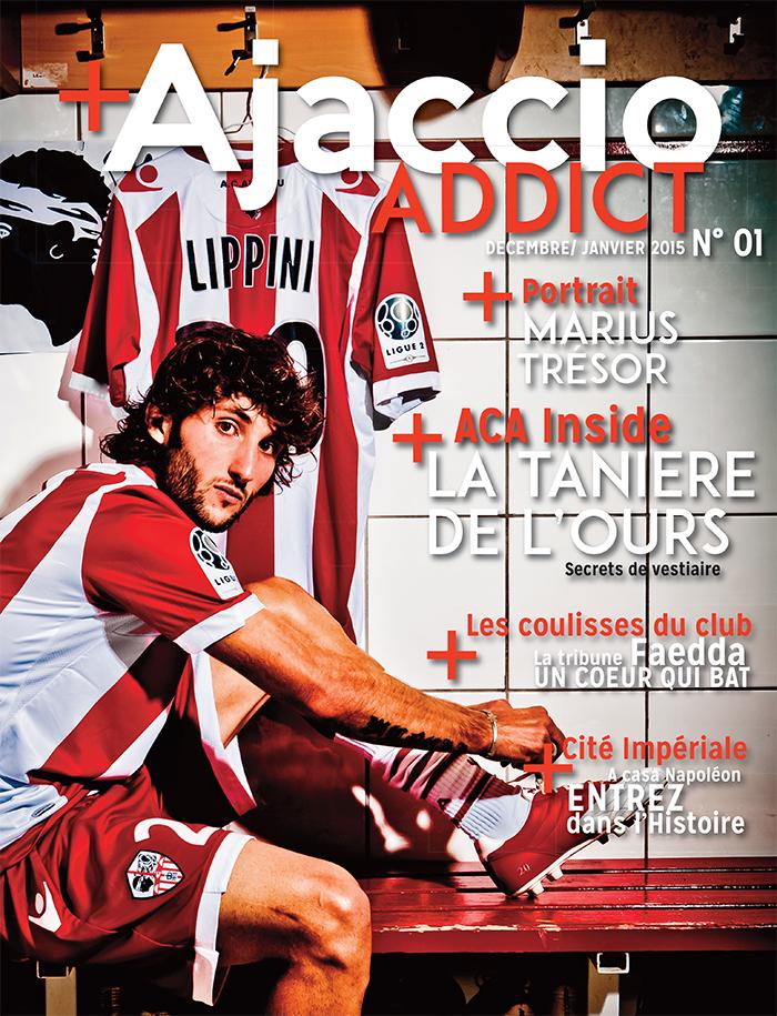 """Avec """"Ajaccio Addict"""" vivez un match en immersion avec l'ACA"""