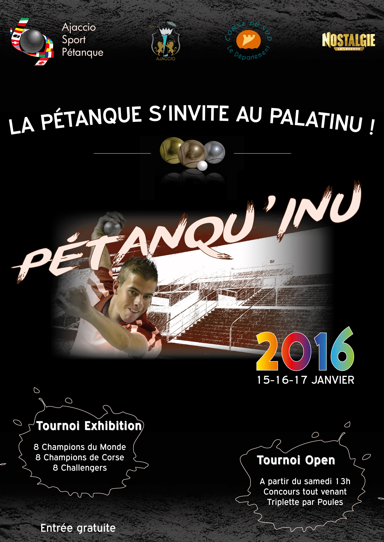 Ajaccio : Un Petanqu'inu de trois jours à la mi-janvier