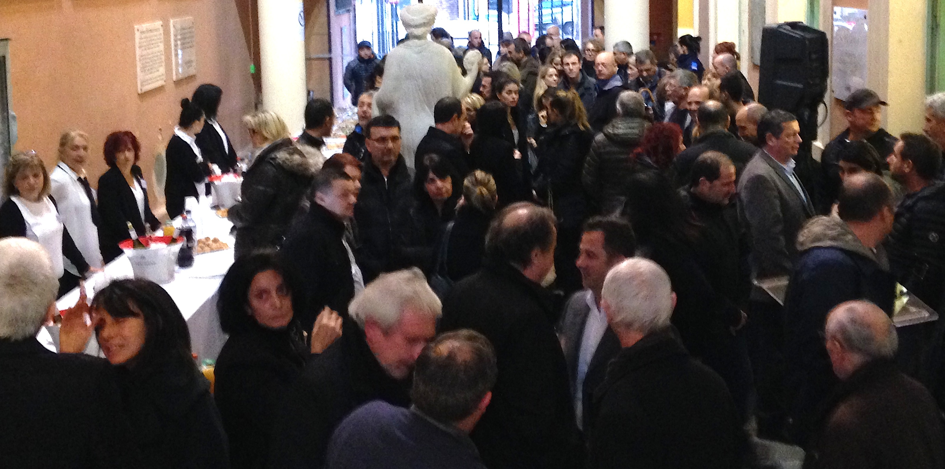 Cérémonie des vœux aux personnels de la mairie d'Ajaccio  Laurent Marcangeli : « Nous sommes fiers de vous »