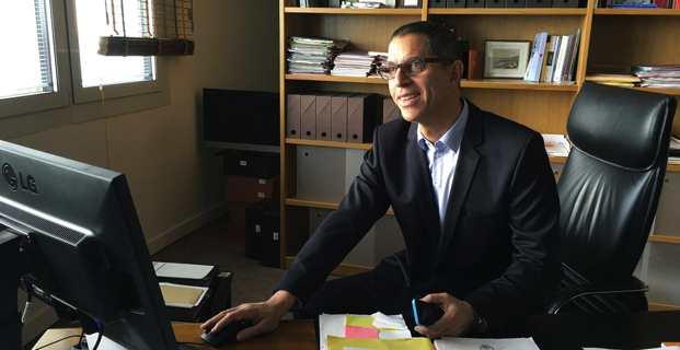 Pierre Savelli, nouveau maire de Bastia. (Photo Rita Scaglia)
