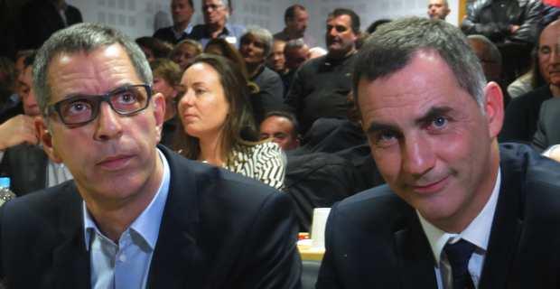 Pierre Savelli et Gilles Simeoni, le passage de flambeau.