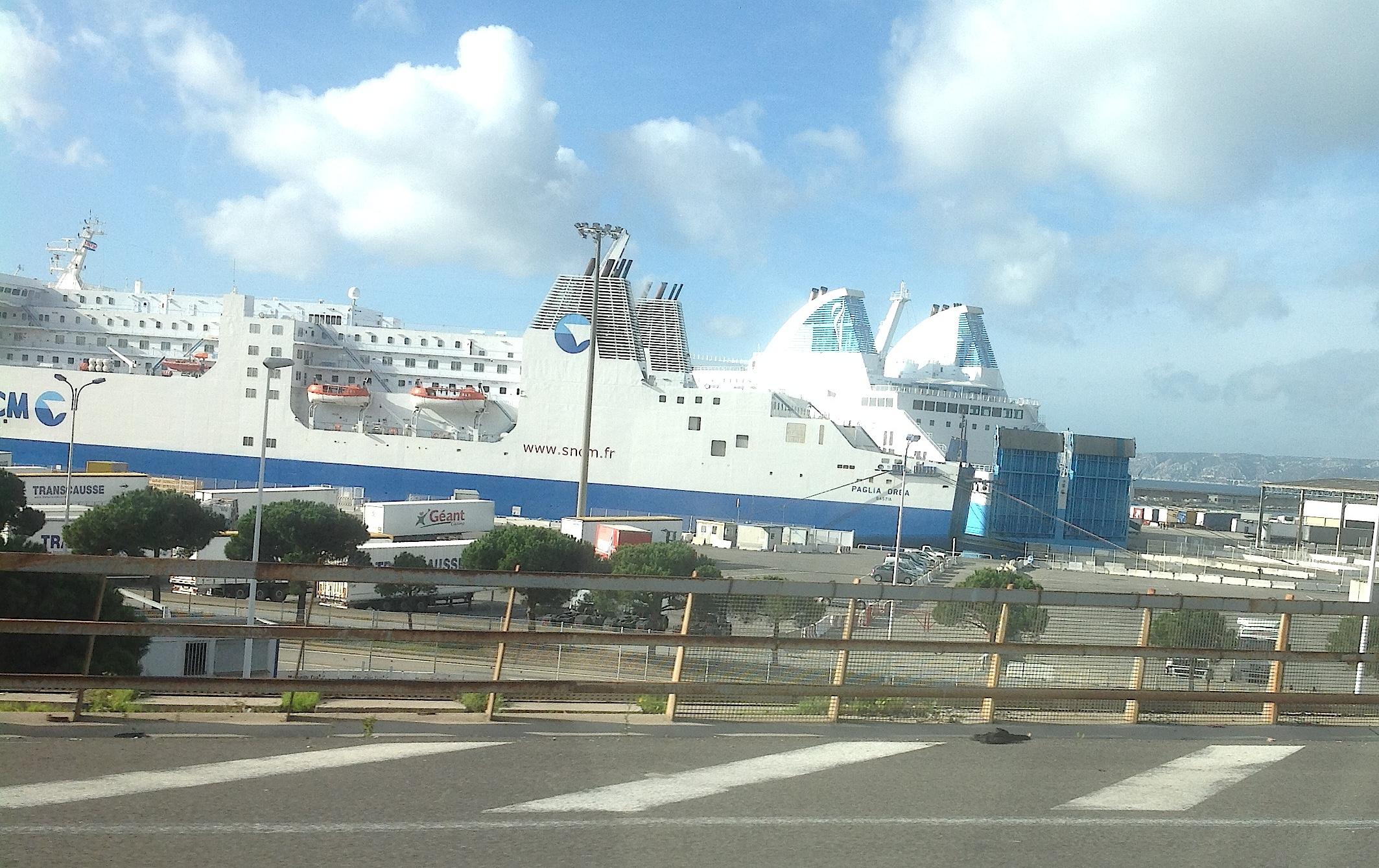 Le Paglia Orba et le Piana bloqués par la grève des marins CGT à Marseille