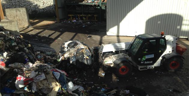 Les déchets mis en balles : La CAPA joue la carte de l'urgence sanitaire