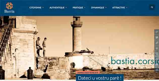 bastia.corsica : Un nouveau site Internet réalisé pour et avec les Bastiais !