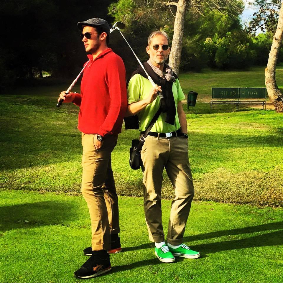 Une partie de golf à l'Empereur ?