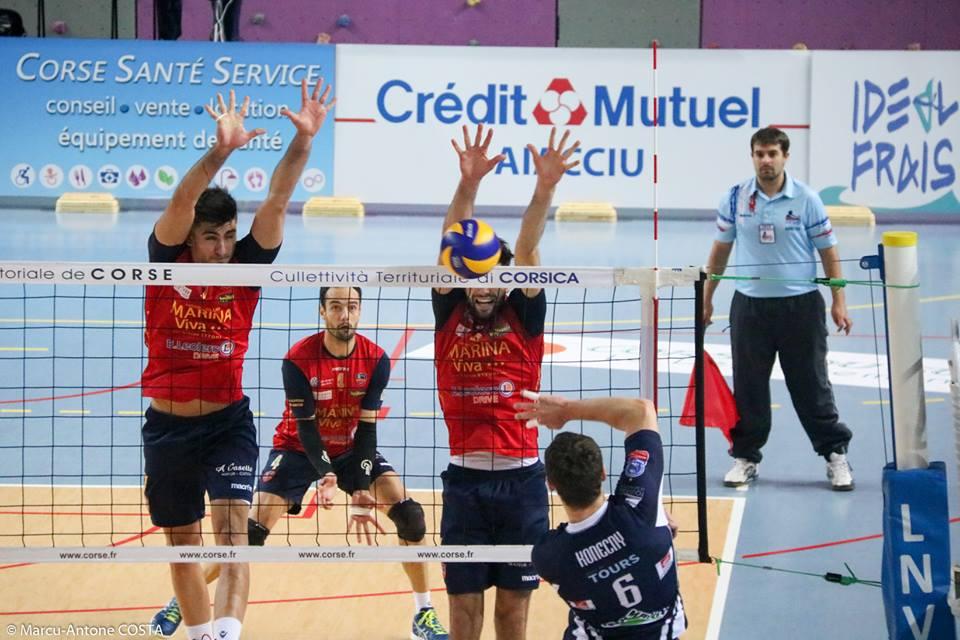 Volley-Ball : Mauvaise passe pour le GFCA défait à Poitiers (3-1)