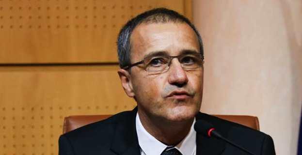 Jean-Guy Talamoni, président de l'Assemblée de Corse. Photo Marcu Antone Costa.