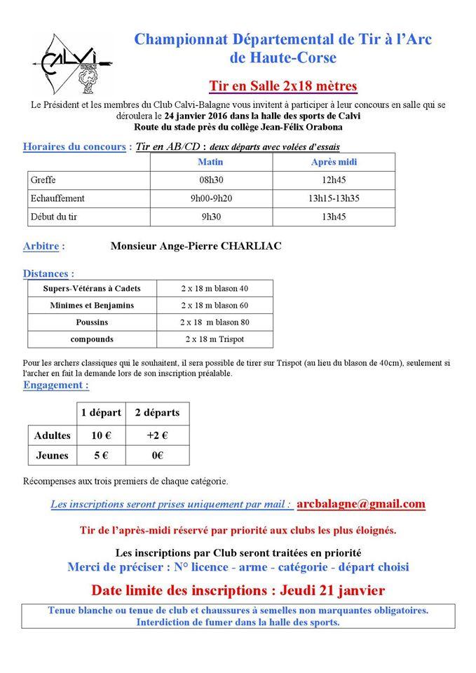 Calvi : Championnat départemental de tir à l'arc Dimanche