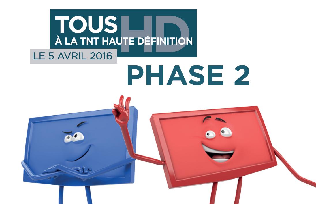 Passage à  TNT Haute Définition : Une nouvelle campagne d'information