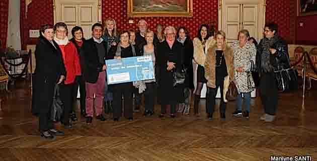 Ajaccio : Un chèque de 6 000 € remis par la Ville à l'antenne Téléthon de Corse-du-Sud