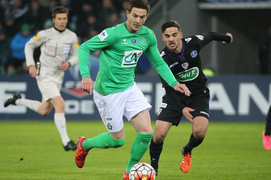 Coupe de France : L'ACA contraint Saint-Etienne à la prolongation